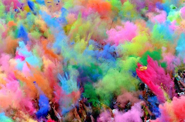 Самые красивые цвета красок